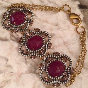 Jewelry - 🤩 OOAK RUBY quartz, crystals & gemstone bracelet